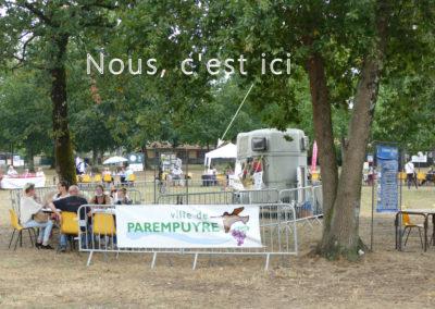 Invitation au Forum des associations de Parempuyre le 4 septembre 2021